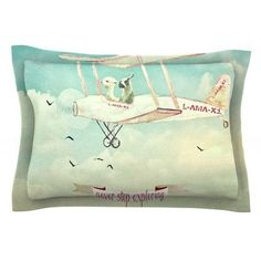 KESS InHouse Never Stop Exploring II by Monika Strigel Featherweight Pillow Sham Size: King, Fabric: Cotton
