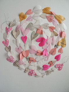 Hearts on a String for your Valentine's Day party! | One Bunting Away
