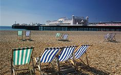 Such a charming British seaside town. Brighton Beach Uk, Brighton Sussex, Brighton England, British Seaside, British Summer, Seaside Holidays, Uk Holidays, Seaside Towns