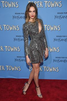"""Cara Delevingne -  """"Paper Towns"""" New  York Premiere - July 21, 2015"""