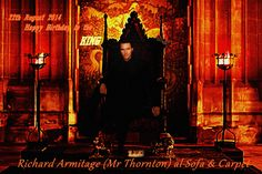 22 th August 2014 HAPPY BIRTHDAY TO THE KING!! RICHARD ARMITAGE FAN ART
