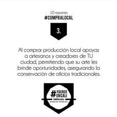 Apoya a los artesanos locales!  #YoCreoEnCali #YoComproLocal #CompraLocal #calico #cali