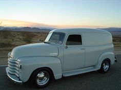 1949 chevrolet thrift master panel delivery truck