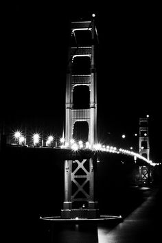 Golden Gate at Night - I took one just like this a couple years ago.