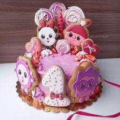 Baby Birthday Cakes, Maya, Sugar, Cookies, Desserts, Food, Crack Crackers, Tailgate Desserts, Biscuits