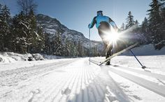 Enjoy cross-country skiing in the Tyrol from the superb Hotel Wiesenhof. Book with Inntravel for winter holidays on the quiet side of the mountain. Going On Holiday, Winter Holiday, Rappelling, Adventure Activities, Cross Country Skiing, Winter Walk, Greatest Adventure, Rafting, Kayaking