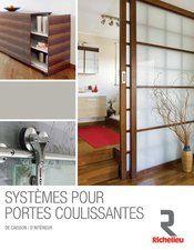 Systèmes pour portes coulissantes Transformez des espaces et les meubles. Nous avons une solution adaptée à chaque projet