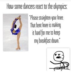 And the hands! I like watching olympic gymnastics but it can be so cringey!