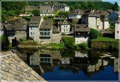 Argentat, Limousin, France