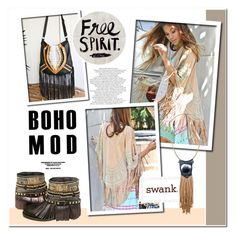 """""""Shop-swank"""" by helenevlacho ❤ liked on Polyvore featuring Fiona Paxton, Bohemian, bohochic, BohoStyle and shopswank"""