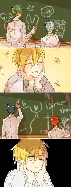 OK, I'M SO DONE WITH THIS DLSFKJÇLSDKJSLFKGJLDKFJÇDFKLGJDFKLGJLKDGJDJFLÇGDKFJG   [Poor Kise / Akashi, stop being satanic (SEITANIC HAHAH ok not funny) / Aomine and his boobies :') / Midorima and Kuroko being so cute <3 / Teikou Middle School + Generation of Miracles]