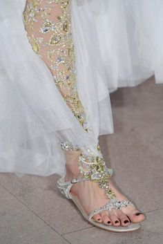 Marchesa, not with those shoes though