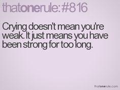 not weak