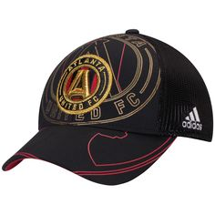 d644e5b146167 MLS Atlanta United FC adidas Flex Meshback Structured Hat - Black Atlanta  United Fc, The