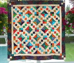 Buckeye Beauty quilt     www.quiltpatchlane.com Image Display