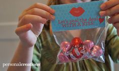 Free Valentine's Day Treat Bag Printables - perfect for school parties, kids, parties, etc.