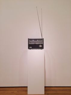 """""""A sculpture must be at least as modern as the most modern hi-fi systems."""" - Isa Genzken, today at @MuseumModernArt #moma #nyc"""