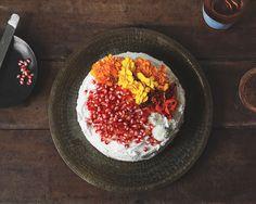 Persian Love Cake with Honey Rose Cardamom Cream + Pomegranate — a Better Happier St. Sebastian