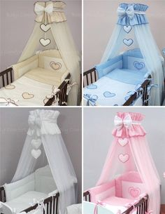 Crown Cot Canopy Mosquito Net Large Fits Baby Cot Bed Designed with Bow & Hearts Baby Nursery Bedding, Baby Bedding Sets, Cot Bedding, Baby Nursery Decor, Baby Bedroom, Baby Boy Rooms, Baby Decor, Baby Bassinet, Baby Cribs