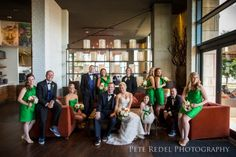 Vanity Fair cover style group photo for the bridal party! // pete redel photography - bmorerowe wedding