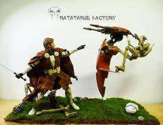 Star Wars custom - Diorama - found at ratatarse-eng.jimdo.com