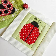The Patchsmith: Ladybug Blocks