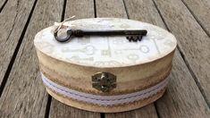 Caja romántica vintage - Creavea