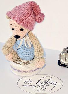 Crochet bear plush crochet bear amigurumi by BeHappyinIceland