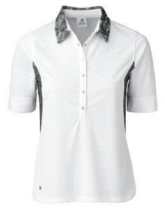 Check out what Loris Golf Shoppe has for your days on and off the golf course! Daily Sports Ladies & Plus Size Esmeralda Half Sleeve Golf Polo Shirts - White