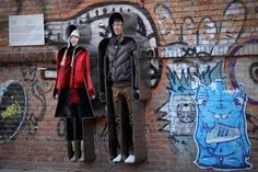 Interactive art installation named 'You and Me' @798 Art Zone, Beijing, photographed during valentines day.