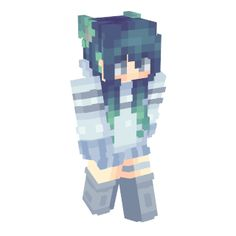 Minecraft Skins Female, Skins For Minecraft Pe, Minecraft Skins Aesthetic, Skins 2017, Mc Skins, Minecraft Crafts, Minecraft Houses, Minecraft Characters, Anime Characters