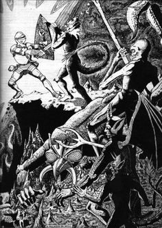 oldschoolfrp:A Paladin In Hell, David Sutherland, AD&D Players Handbook.