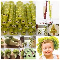 Las uvas de la suerte y los niños