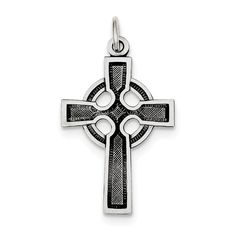 Roy Rose Jewelry Sterling Silver Celtic Cross Charm >>> Be sure to check out this awesome product. (This is an affiliate link) #CharmsandCharmbracelets