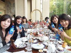 エパーアンバサダー蜷川恵美子さんBLOGより「今日は、早稲田にあるリーガロイヤルホテルにて印象美人お茶会を開催いたしました。皆さん素敵な方ばかりです!私がアンバサダーを務めているフレンチマダム御用達のエパーと一緒に‼️(*^^*)~」 #エパー #hepar