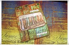 Jorunns fristed: Birthday card with Abandoned paper og Studiolight Products. Tim Holtz, Abandoned, Birthday Cards, Paper, Products, Left Out, Bday Cards, Birthday Greetings, Ruin