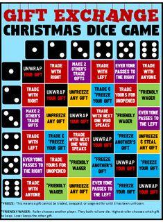 Funny Christmas Party Games, Christmas Gift Exchange Games, Xmas Games, Christmas Games For Family, Holiday Games, Christmas Activities, Christmas Humor, Christmas Fun, Funny Party Games