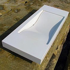 Red Rock Concrete Sink - Concrete Works Artisan Concrete. Concrete Sink, Bathroom Furniture, Artisan, Rock, Home Decor, Decoration Home, Room Decor, Bathroom Storage Furniture, Skirt