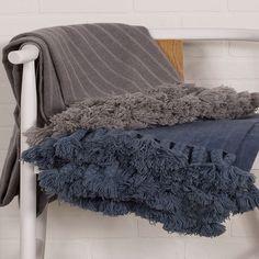 Jaipur Native Gray Throw Blanket #laylagrayce