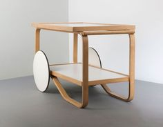 The 901 Tea Trolley by Artek, $2,230 from store.dwell.com For the ultimate entertainer, you could do no better than the classic Alvar Aalto–designed 901 trolley.