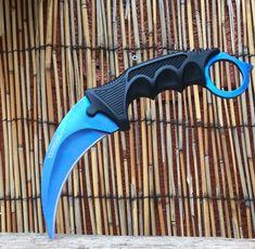 CSGO Blue Karambit Hawkbill Claw *Limited Edition* - FREE SHIPPING ON ALL U.S. ORDERS! - 2