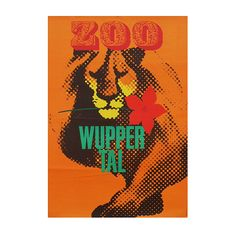 1960's Wuppertal Zoo Travel Poster-fears-and-kahn-wuppertalzoo poster_main_635929598742521559.jpg