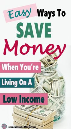 Finding ways to save money can be difficult when you are living on a low income. The good news is that it isn't impossible to save some money if you are willing to put in some work to grow your emergency savings. Click over to find out how. Save Money On Groceries, Ways To Save Money, Money Tips, Money Saving Tips, Money Hacks, Earn Money, Money Fast, Savings Planner, Budget Planner
