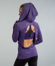Oh yesss!!! Another great find on #zulily! Majestic Purple Aster Hoodie #zulilyfinds