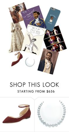 """""""Lafayette Genderbended Hamilton!"""" by lillasky ❤ liked on Polyvore featuring Jimmy Choo"""
