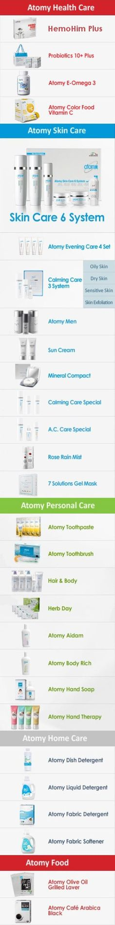 Atomy Products