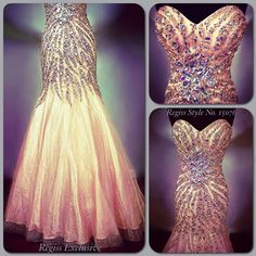 Regiss Exclusive prom 2014: by popular request - detail shots of Regiss style number 15076! #regissexclusive #regiss #regissexclusive2014 #prom #promdress #prom2014 #swarovski #crystal #beading #sequin #silver #iridescent #mermaid #fitandflare #blush #peach #nude #net #crinoline #strapless #sweetheart #corset #corsetback #glamour #sparkle #regissprom #regissprom2014