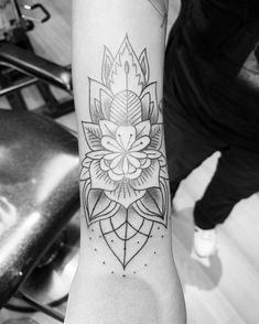 Arm Tats, Arm Tattoos For Guys, Mandala Tattoo, Tatting, Instagram, Needle Tatting