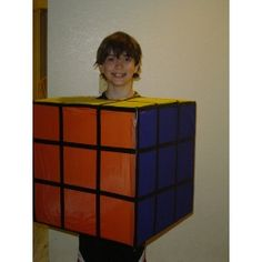 Discover hauntingly easy ideas for DIY kids' homemade Halloween costumes on Disney Family. Choose from scary costumes, last-minute ideas, animal outfits and more! Halloween Costumes Kids Homemade, Halloween Math, Cubes, Rubik's Cube, Scary Costumes, Disney Family, Maths, Diy For Kids, Dress Up