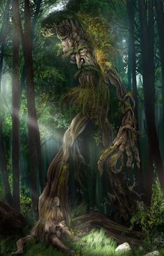 """OXYLOS (or Oxylus) was a rustic saimon (Spirit) of the forests of Mounts Oita (Oeta) and Othrys in Malis. He was a son of Oreios (""""the Mountain"""") and the husband of Hamadryas (""""She-with-Tree""""). They had eight daughters, the Hamadryad nymphs, who each presided over a specific type of tree, and a son Andraimon, an early king of the Dryopes."""
